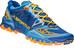 La Sportiva M's Bushido Shoes Blue/Papaya
